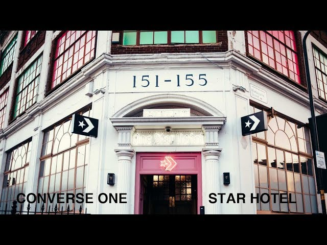 A Look Into The Converse One Star Hotel In London