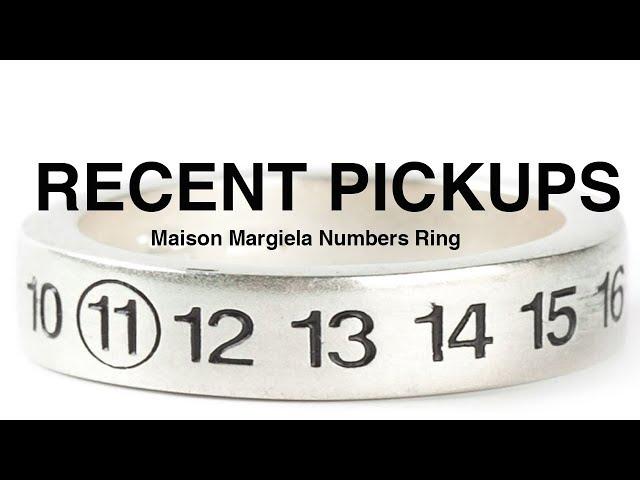 Maison Margiela Numbers Ring | Unboxing
