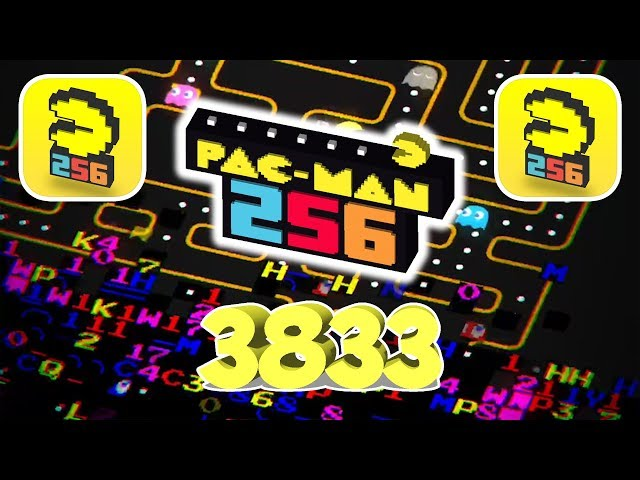 PAC-MAN 256 NEW RECORD (3833) (iOS | ANDROID)