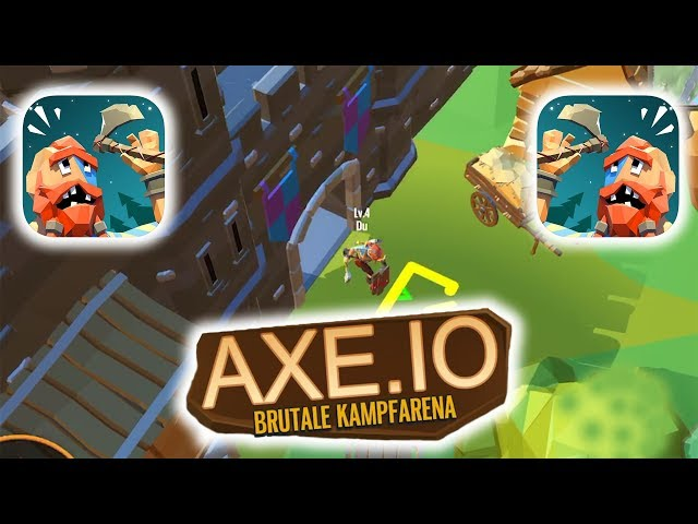 AXE.IO GAMEPLAY FIRST RECORDS (iOS | ANDROID)