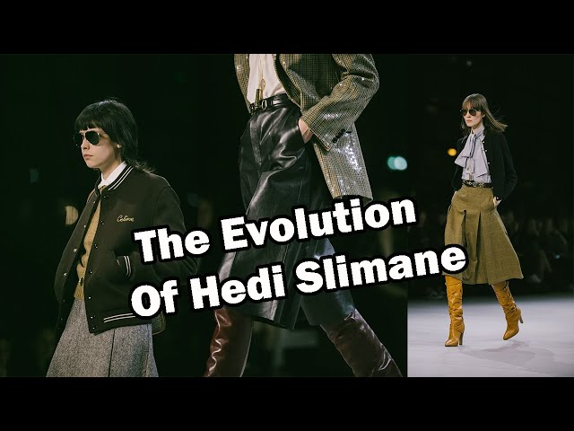 Is Hedi Slimane Changing? | Celine Fall 2019 Review