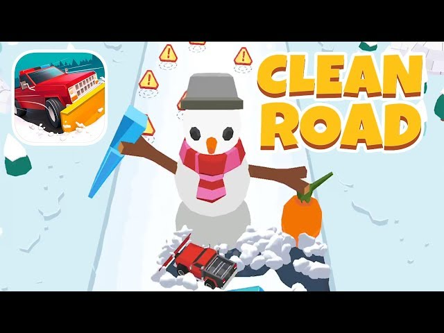 CLEAN ROAD GAMEPLAY FIRST LEVELS 1-20 (iOS | ANDROID)