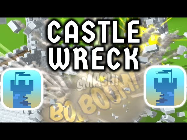 CASTLE WRECK GAMEPLAY FIRST LEVELS (1-11)(iOS)