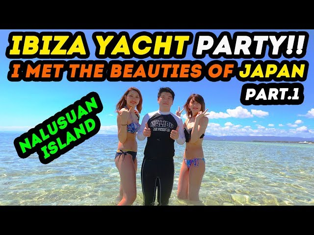 🇵🇭[Part.38] I found the best activity during my trip to the Philippines the ibiza yacht party