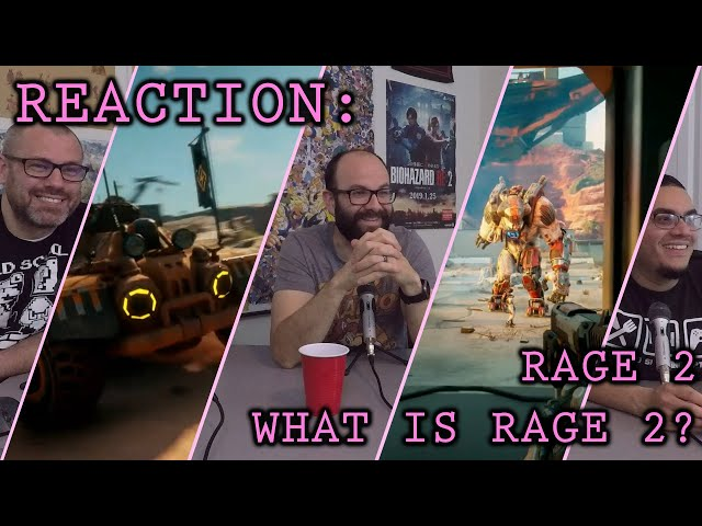 Reaction: What Is Rage 2? Trailer