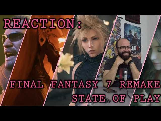 Reaction: Final Fantasy 7 Remake (State of Play Trailer)