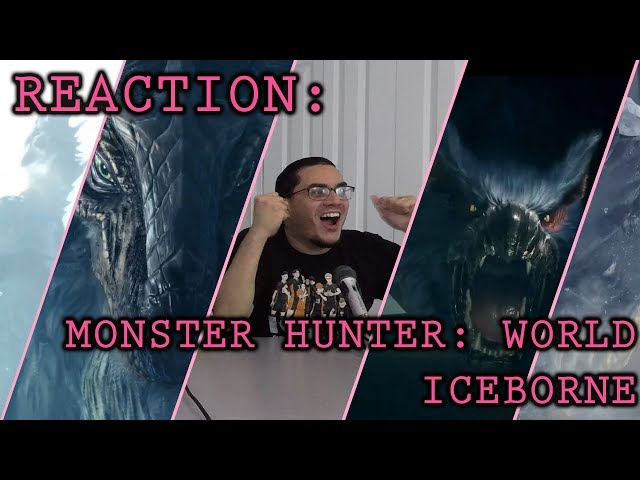 Reaction: Monster Hunter: World Iceborne Expansion (State of Play Trailer)