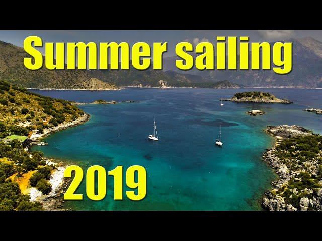 Stunning Turkish anchorages - Sailing A B Sea (Ep.073)