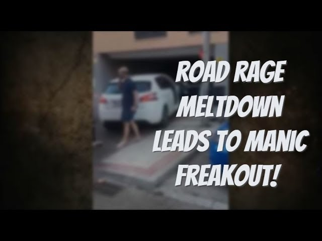 Hyped Up Driver Experiences Road Rage Freakout!