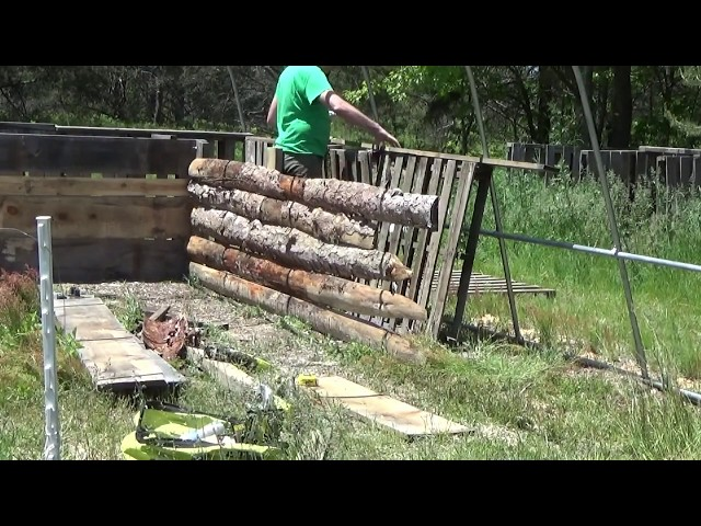 Building Raised Beds For Our Greenhouse Part 2