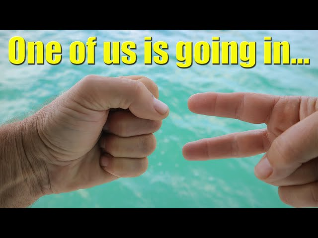 ONE OF US is going in and it's NOT ME - Sailing A B Sea (Ep.074)