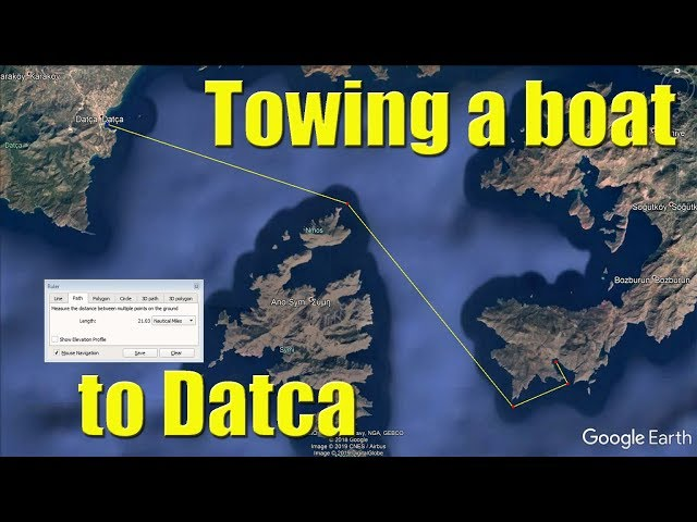 Towing a Turkish boat to Datca - Sailing A B Sea (Ep.076)