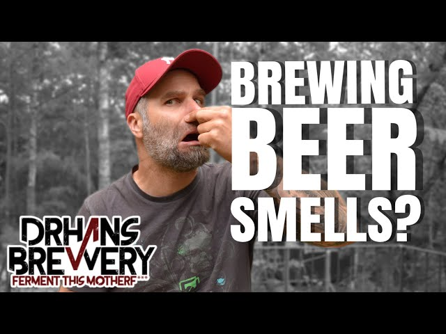 Does it smell to brew beer at home? Brewing Vlog