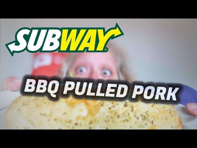 Subway Bbq Pulled Pork