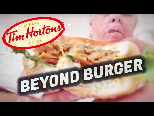 Tim Horton's Beyond Burger