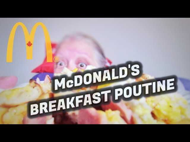 McDonald's Breakfast Poutine