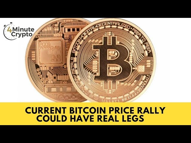 The Current Bitcoin Price Rally Could Have Real Legs