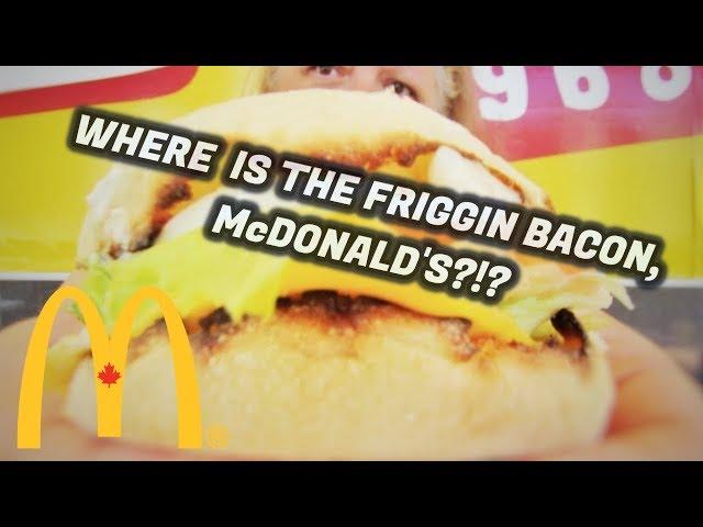 McDonald's Egg BLT McMuffin