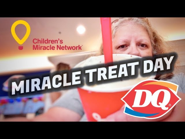 Dairy Queen Miracle Treat Day And Reese's Peanut Butter Lovers Blizzard