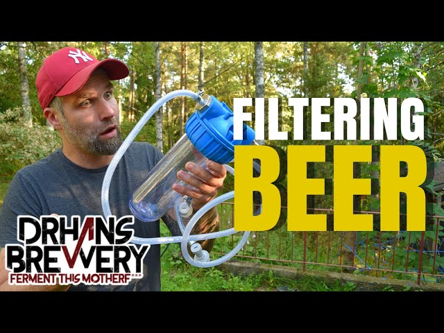 How To Filter Beer at Home - Or Not?