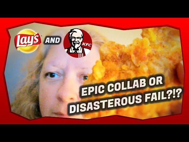 NEW!!! KFC Lay's Bbq Chicken Tenders 🐔🍗
