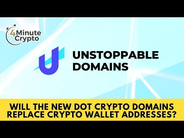 Will The New Dot Crypto Domains Replace Crypto Wallet Addresses?