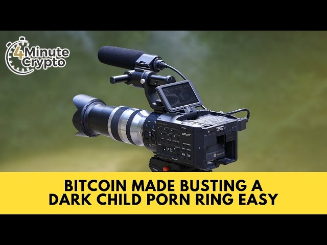 Bitcoin Made Busting A Dark Child Porn Ring Easy