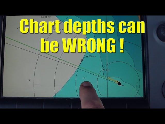 Chart depths can be WRONG ! - Sailing A B Sea (Ep.091)