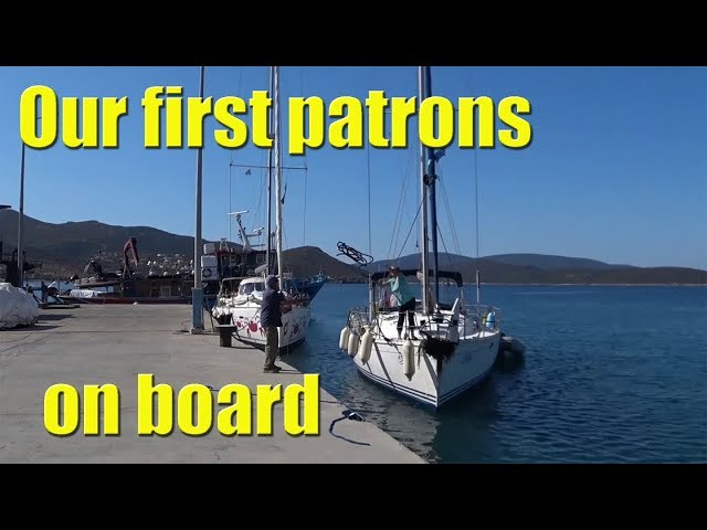 Our FIRST patrons onboard - Sailing A B Sea (Ep.092)