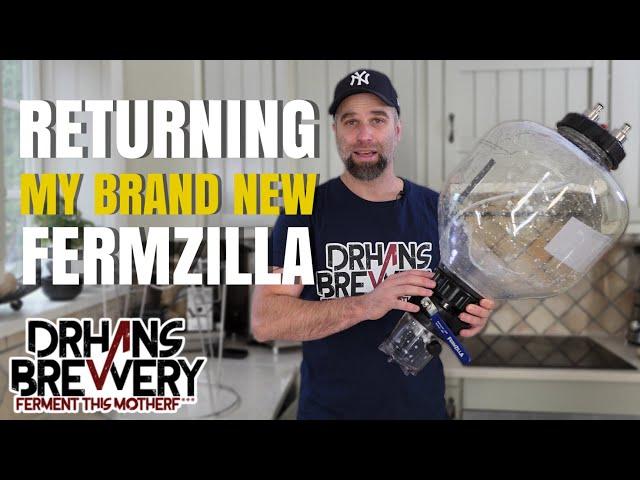 Fermzilla review part 2 - Returning it!