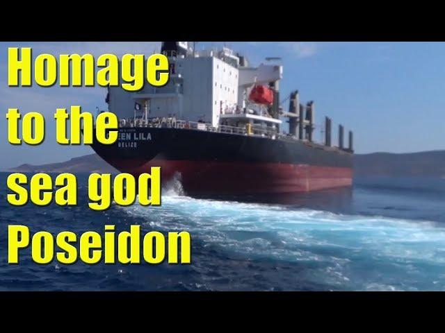 Homage to the SEA GOD Poseidon - Sailing A B Sea (Ep.093)