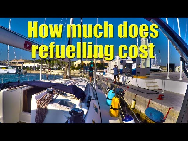 We need to find a refuelling dock - Sailing A B Sea (Ep.097)