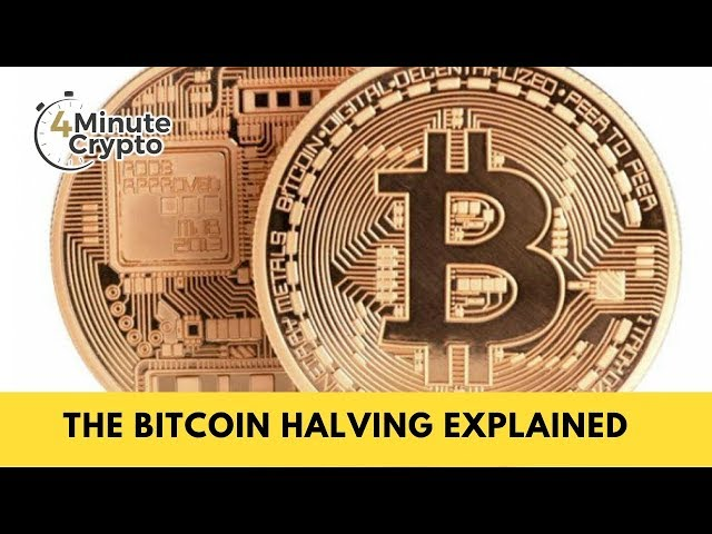 The Bitcoin Halving, Explained
