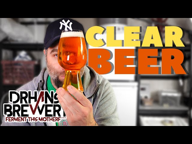 Clear Beer With Gelatin Fast