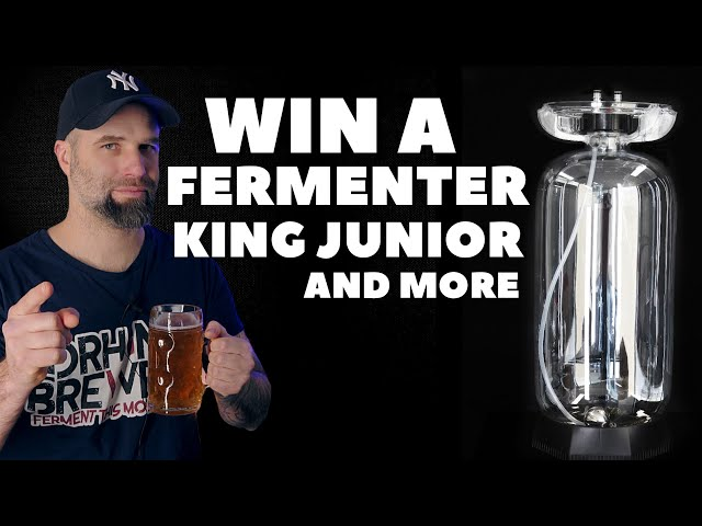 Win a fermenter king JR and more great prices - Brewing gear giveaway