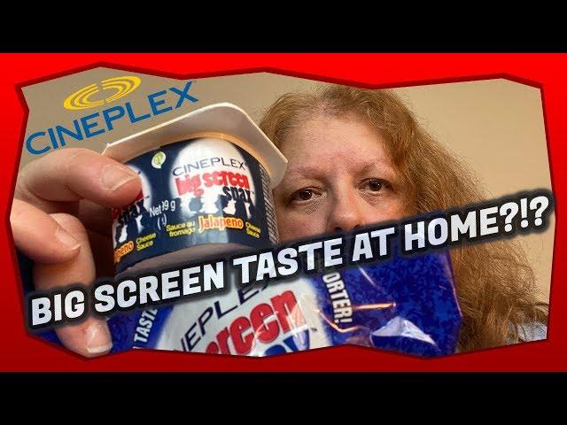 Cineplex Big Screen Snax Nachos & Jalapeño Cheese Sauce