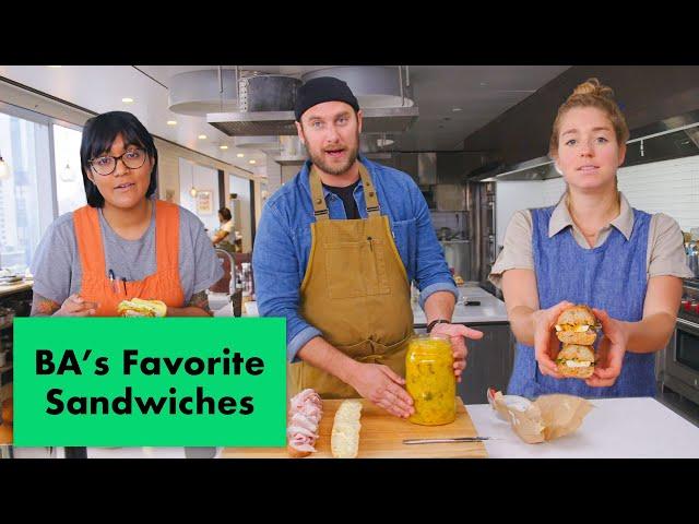 Pro Chefs Make Their Favorite Sandwiches | Test Kitchen Talks | Bon Appétit