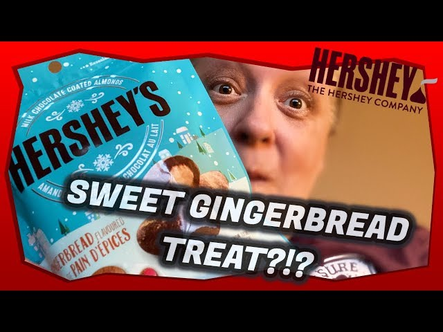 Hershey's Chocolate Covered Almonds Gingerbread