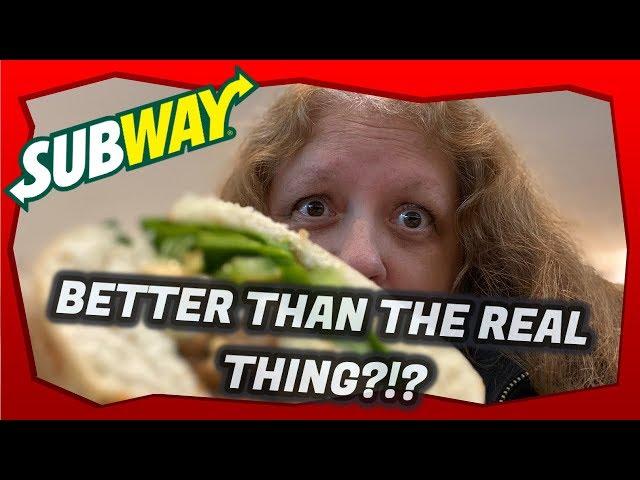 NEW!! Subway Beyond Meatball Sub