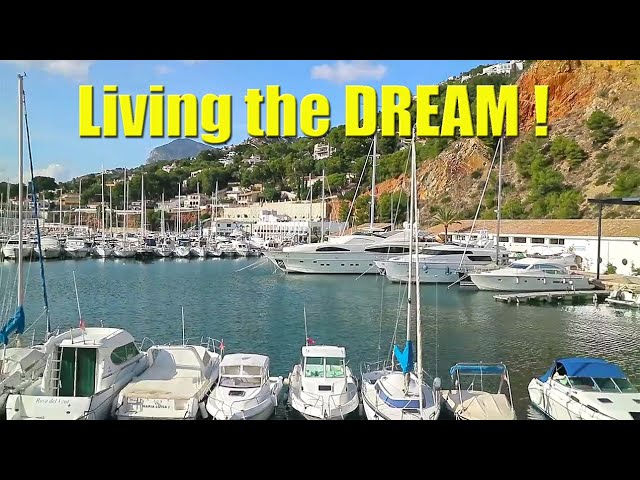 Living the dream begins with hard work! - Sailing A B Sea (Ep.001)