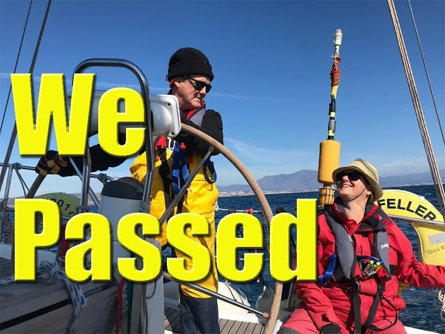 We pass our RYA Competent Crew Course - Sailing A B Sea (Ep.008)