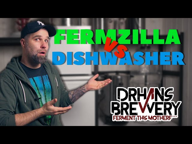 Can you clean your Fermzilla in the Dishwasher?