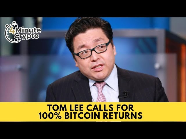 Tom Lee Calls For 100% Bitcoin Returns