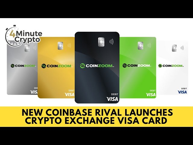 Coinbase Rival Launches Crypto Exchange Visa Card
