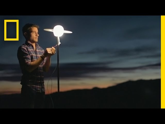Watch This Guy Build a Massive Solar System in the Desert | Short Film Showcase