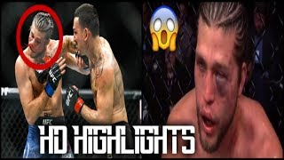 (HIGHLIGHTS) Max Holloway BEFORE and AFTER Brian Ortega Fight | MMA Live