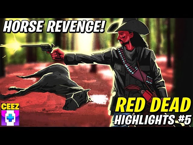 CDNThe3rd's Horse Dies, Will He Be Avenged? | Red Dead Redemption 2 (Highlights #5)