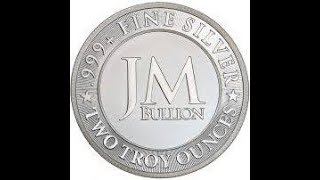 2oz JM Bullion Eagle Silver Round - Unboxing