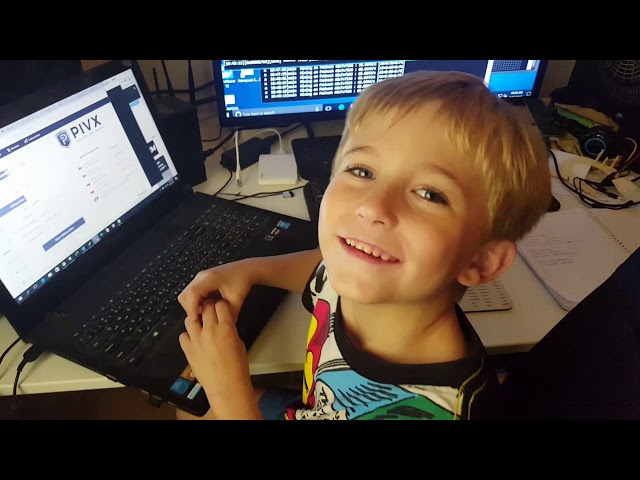 6year old boy doing the Crypto!!!!