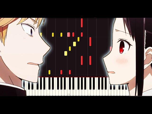 Kaguya-sama: Love is war OP - Love Dramatic (Piano + Sheets)